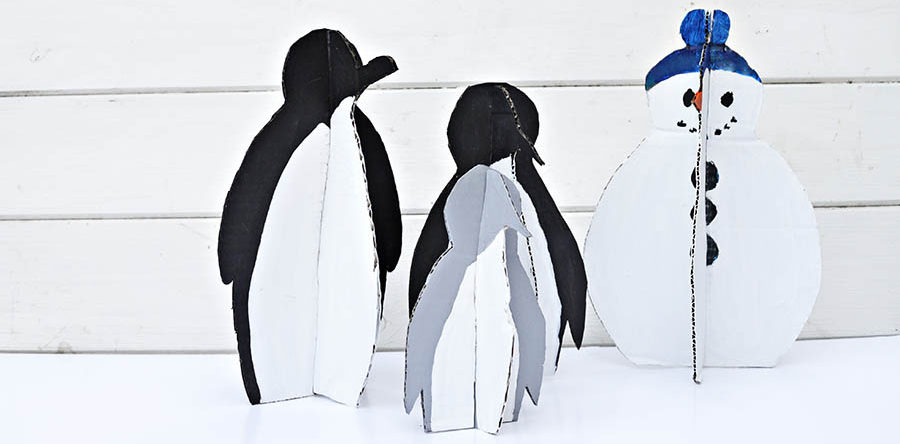 fun diy christmas decorations penguins