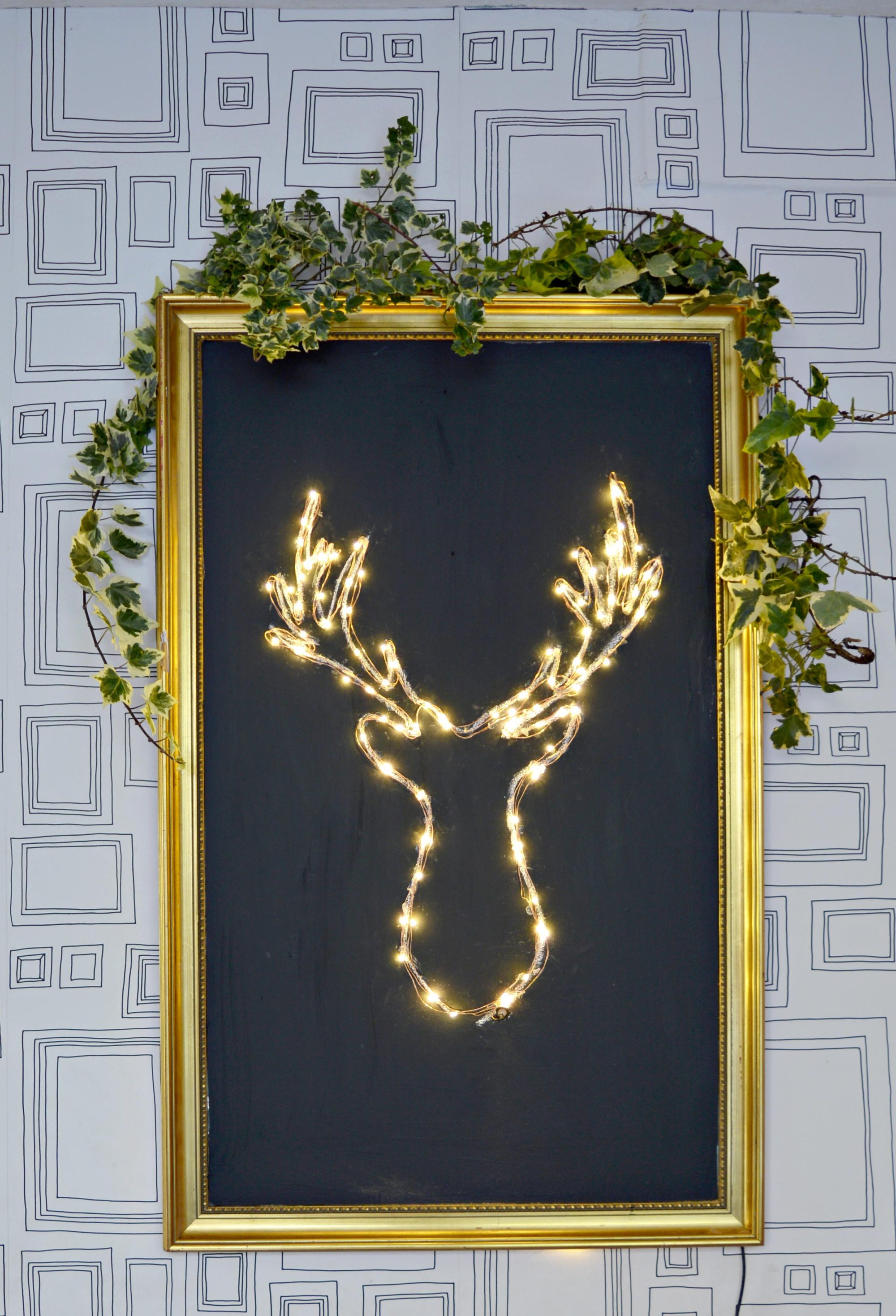 Make your own brilliant DIY LED Deer Head Christmas decoration.  It's a lot cheaper and simpler than you think.
