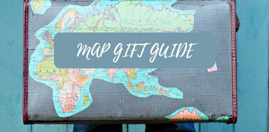 Map themed gift guide for the map lover pillar box blue map themed gift guide for the map lover gumiabroncs Gallery