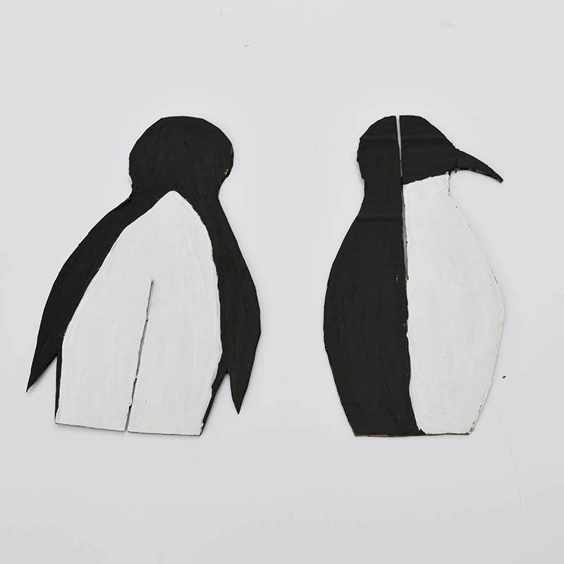 painted penguin templates