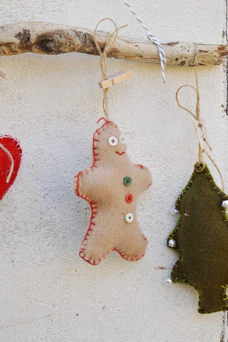 Cookie cutter gingerbread man
