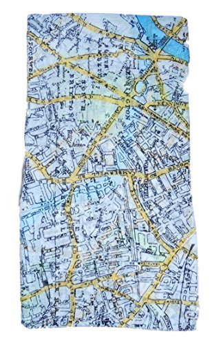 map-scarf