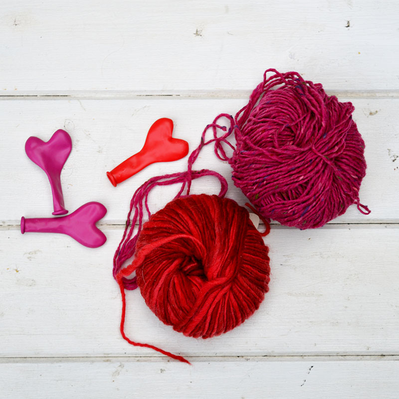 What you need to make valentine's light decoration