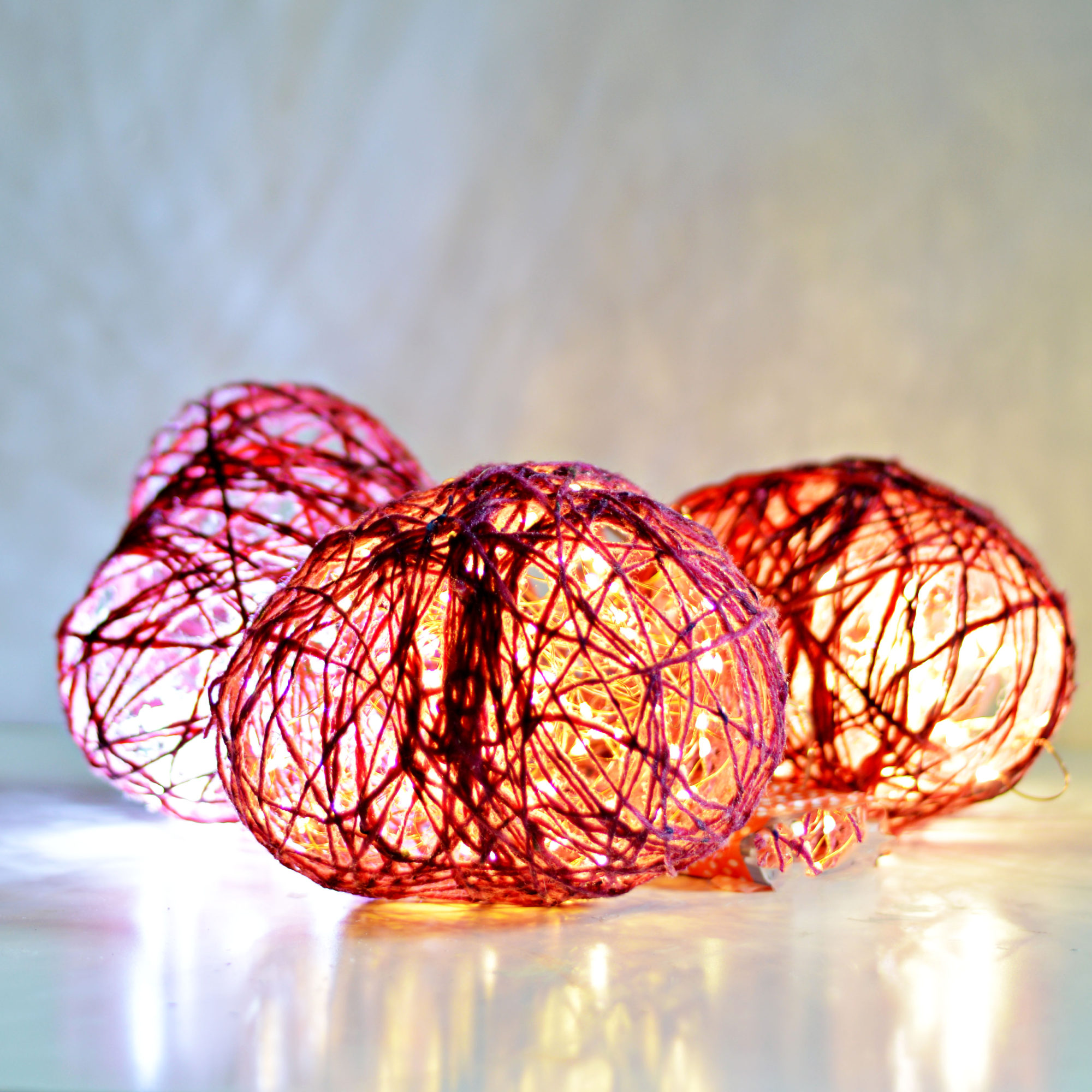 diy valentines light decorations easy to make string hearts and then use copper string lights - Valentine String Lights