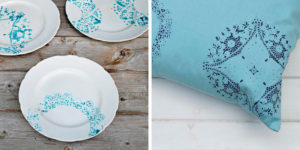 Five amazing ways to use paper doily stencils