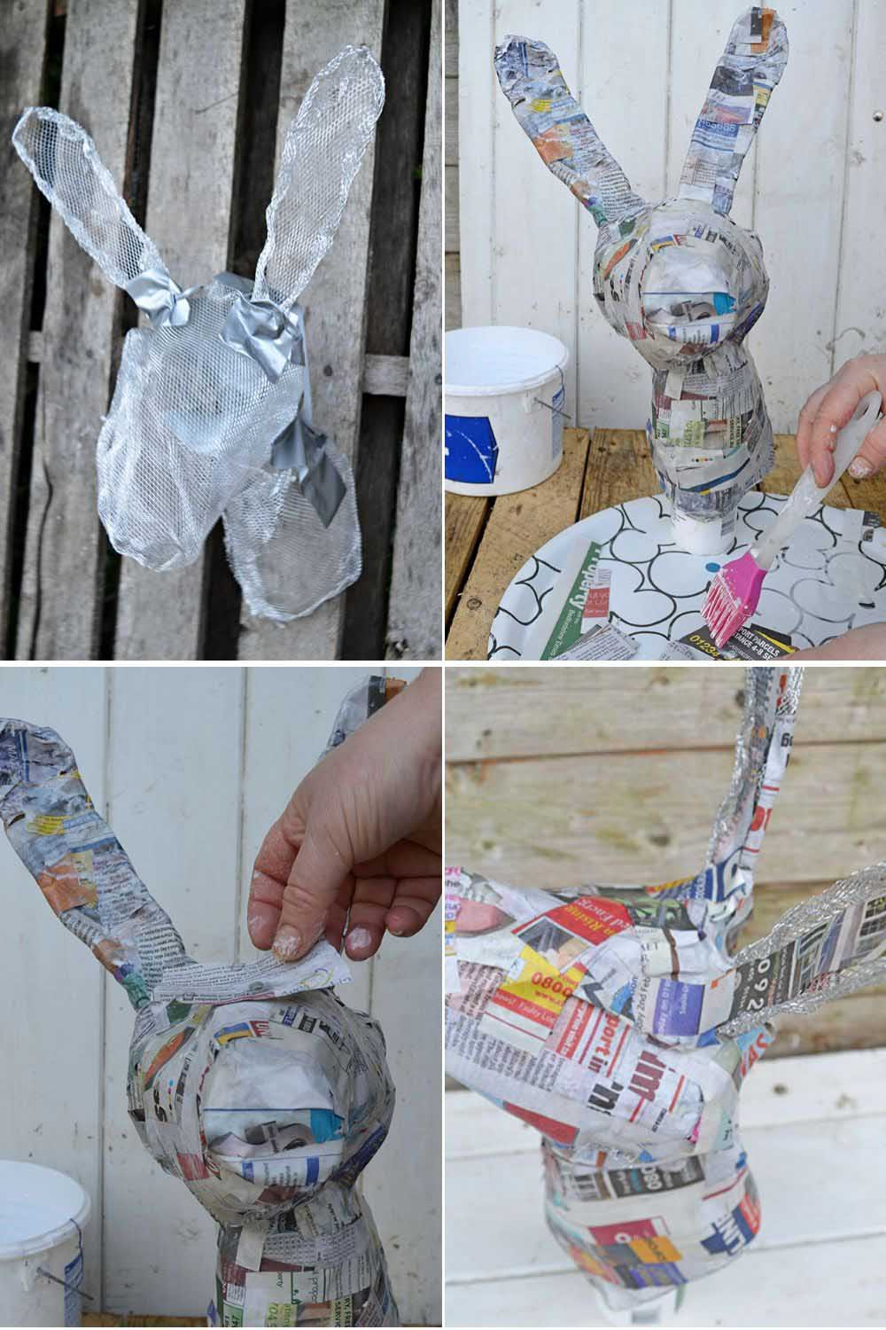 paper mache step by step