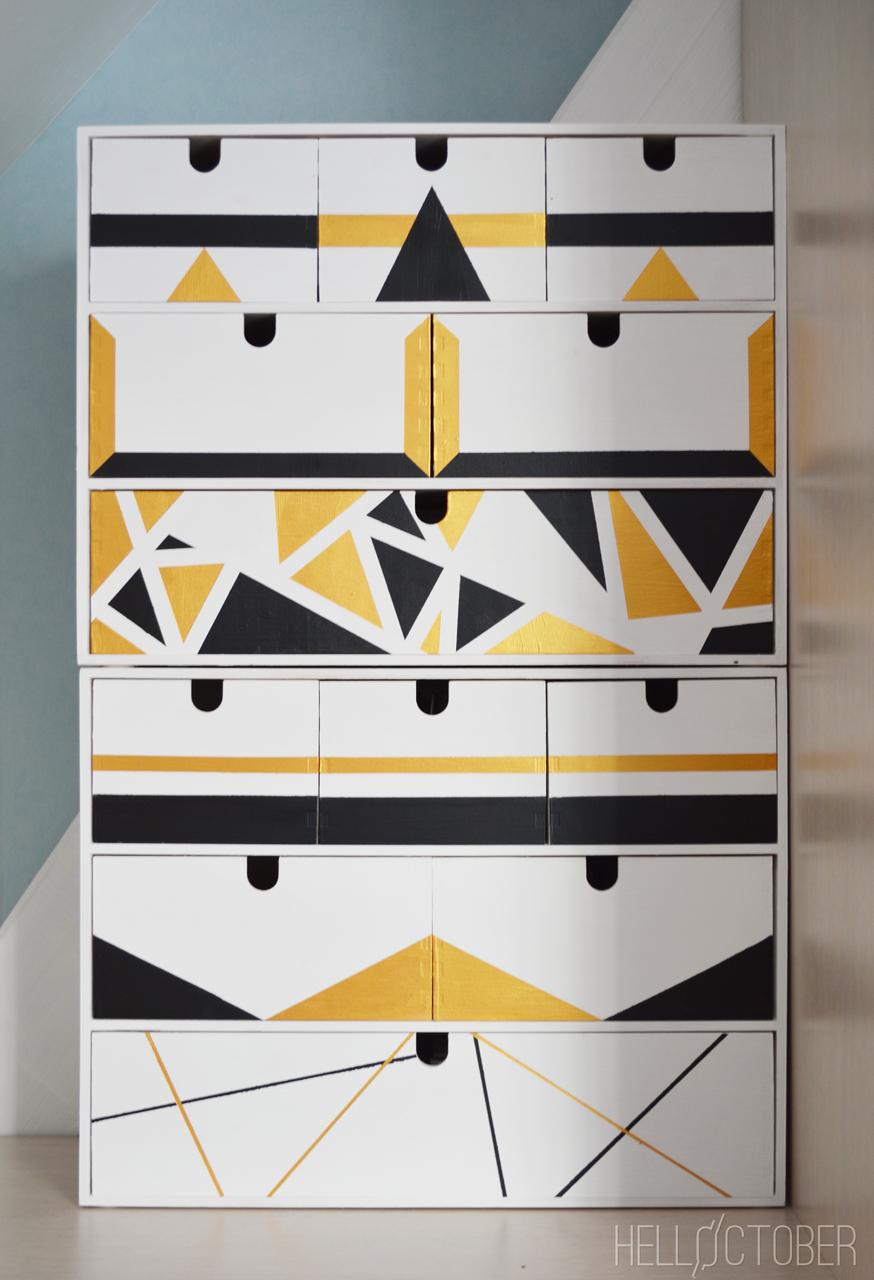 Ikea moppe mini drawers hack