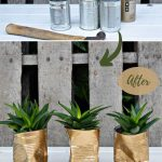 upcycled diy planters
