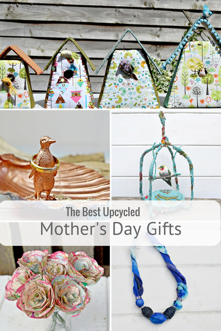 Everyone loves a unique handmade gift.  Here are some of the best upcycled Mother's day gifts. Full tutorials.