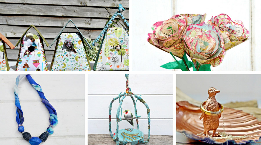 Everyone loves a unique handmade gift. Here are five of the best upcycled Mother's day gifts. You can of course make these all year round.