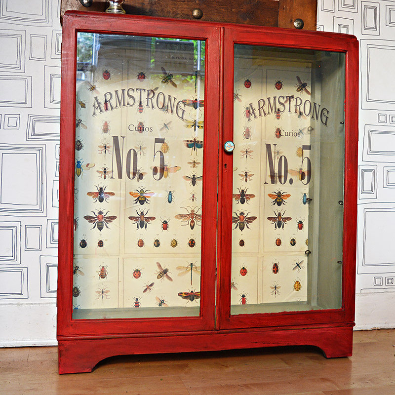 The best chalk paint cupboard upcycle window decals and decoupage