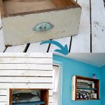 How to upcycle drawers into storage