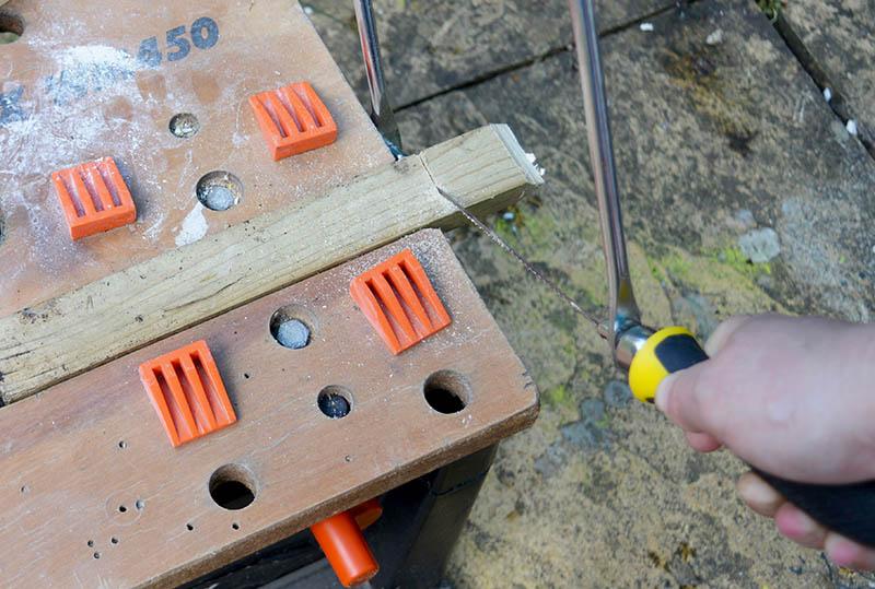 How To Make A Fun Wall Key Holder From Junk Pillar Box Blue