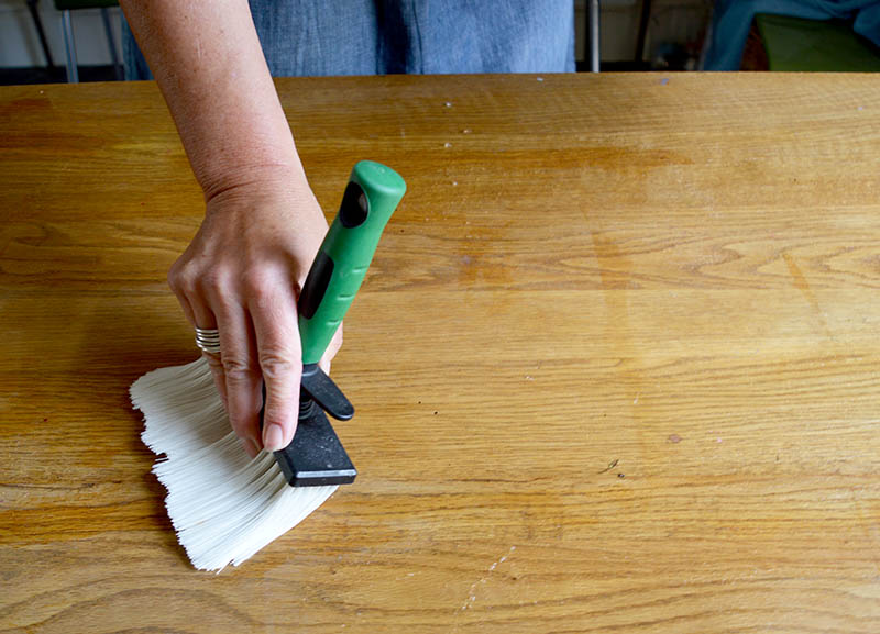 pasting the table for a key