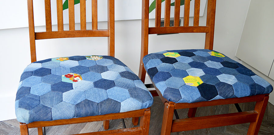 How To Make A Denim Patchwork Chair