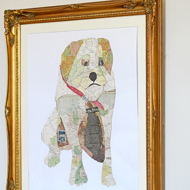 Make some gorgeous unique map art by immortalizing your pet in a map portrait.