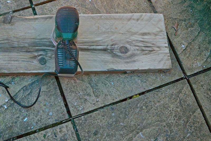 sanding scaffolding board s