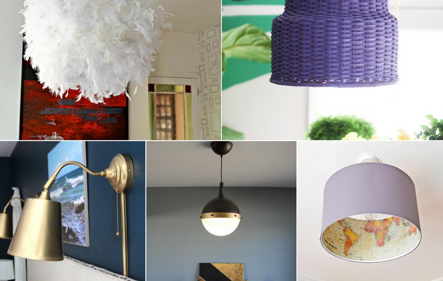 Ikea lamp hacks for your home