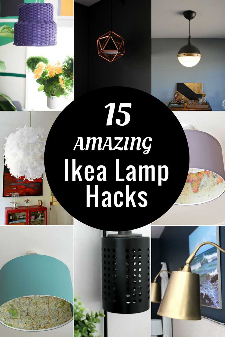 15 Of The Most Unique Ikea Lamp Hacks