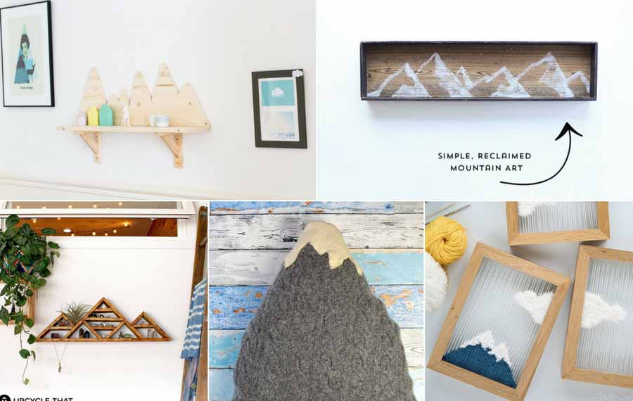 15 amazing mountain crafts and DIY's