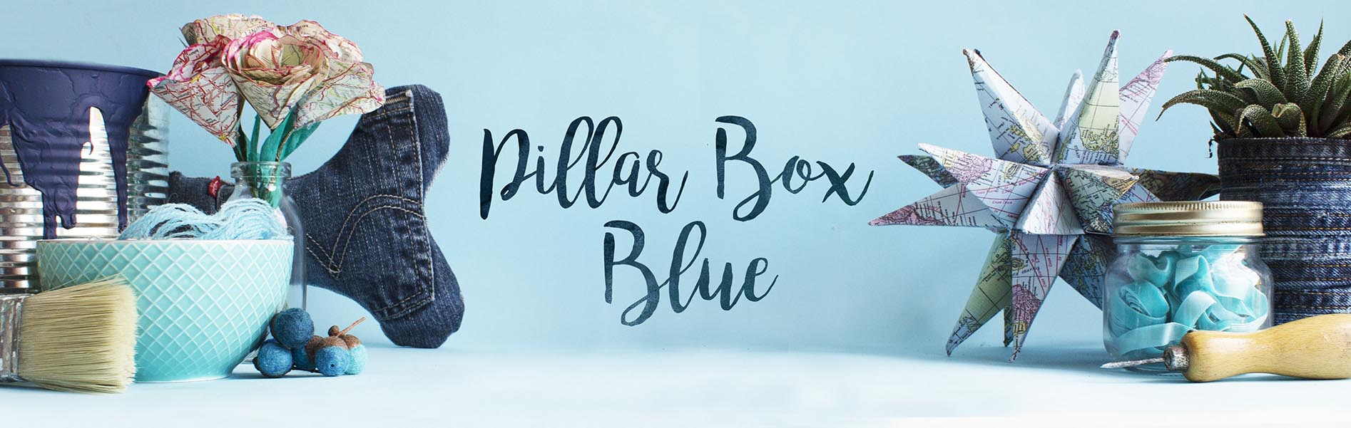 Pillar Box Blue How to Make a