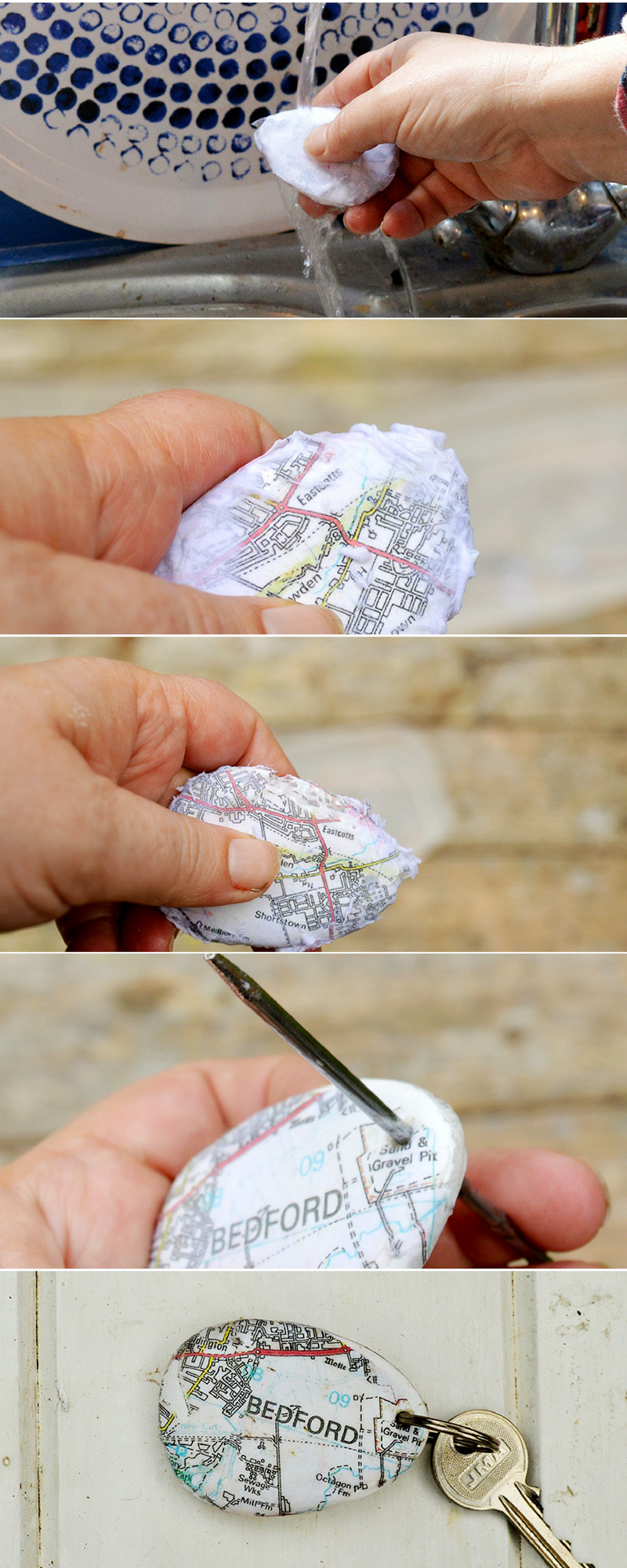 Did you know you can print maps onto rocks to make a really cool map rock keychain. This would make a lovely personalised gift.