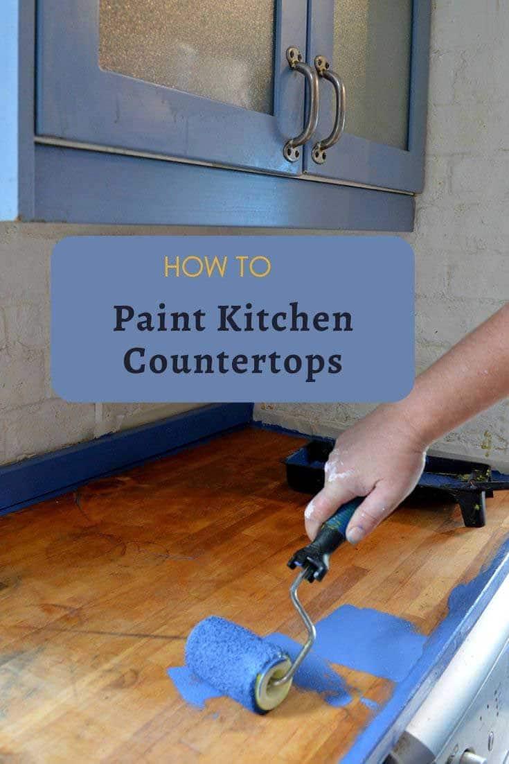 painting kichen worktop