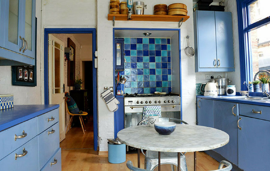 Update your kitchen with painted worktops