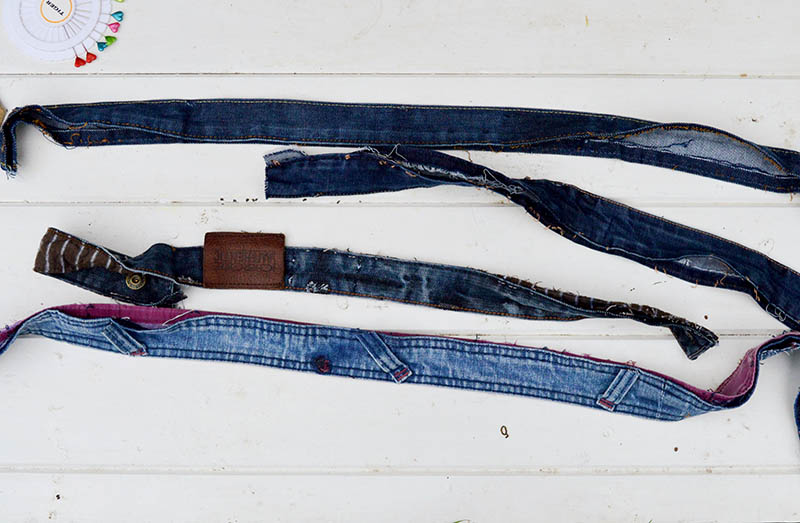 Denim waistbands