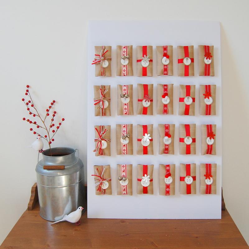 Unique Ways To Make A Diy Christmas Advent Calendar Pillar Box Blue