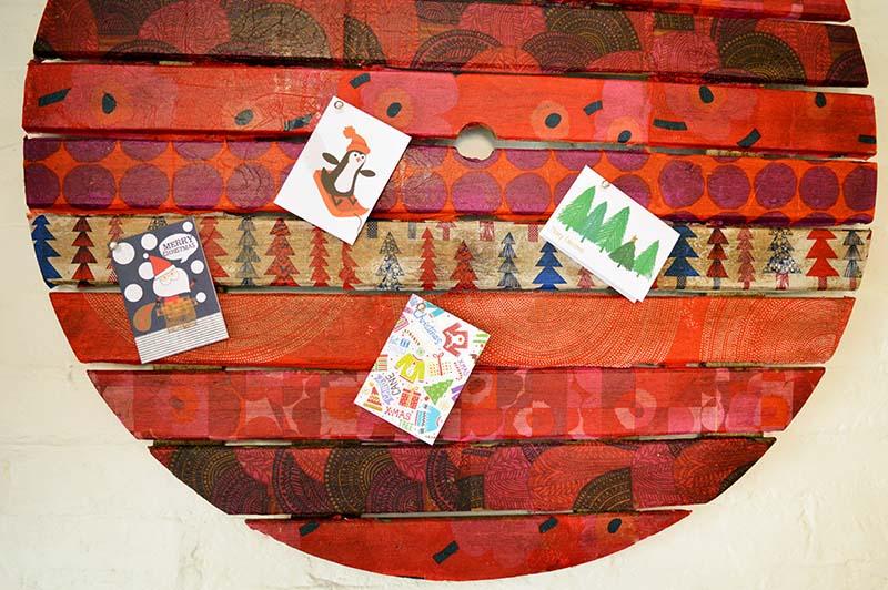 Marimekko Christmas wall art