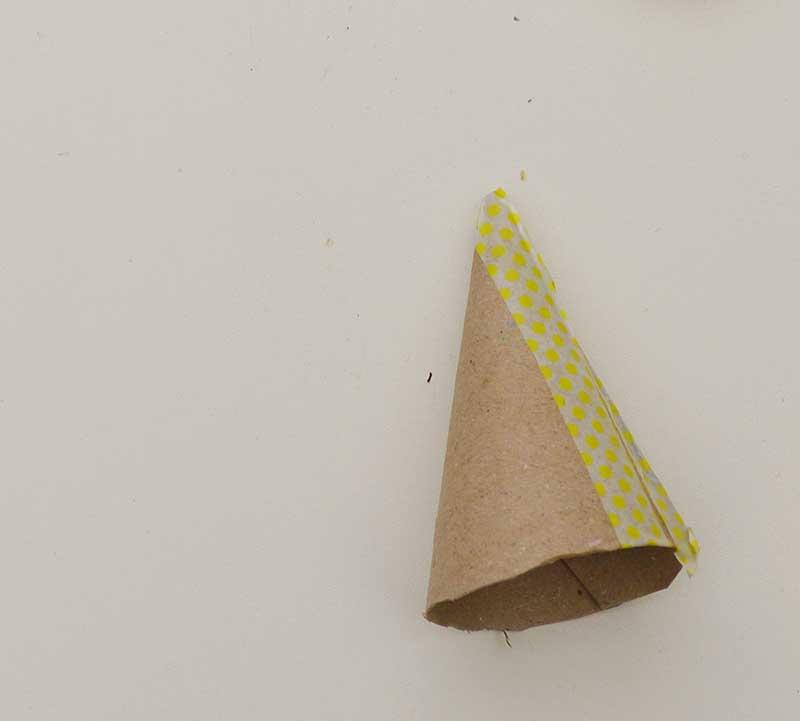 cardboard cone