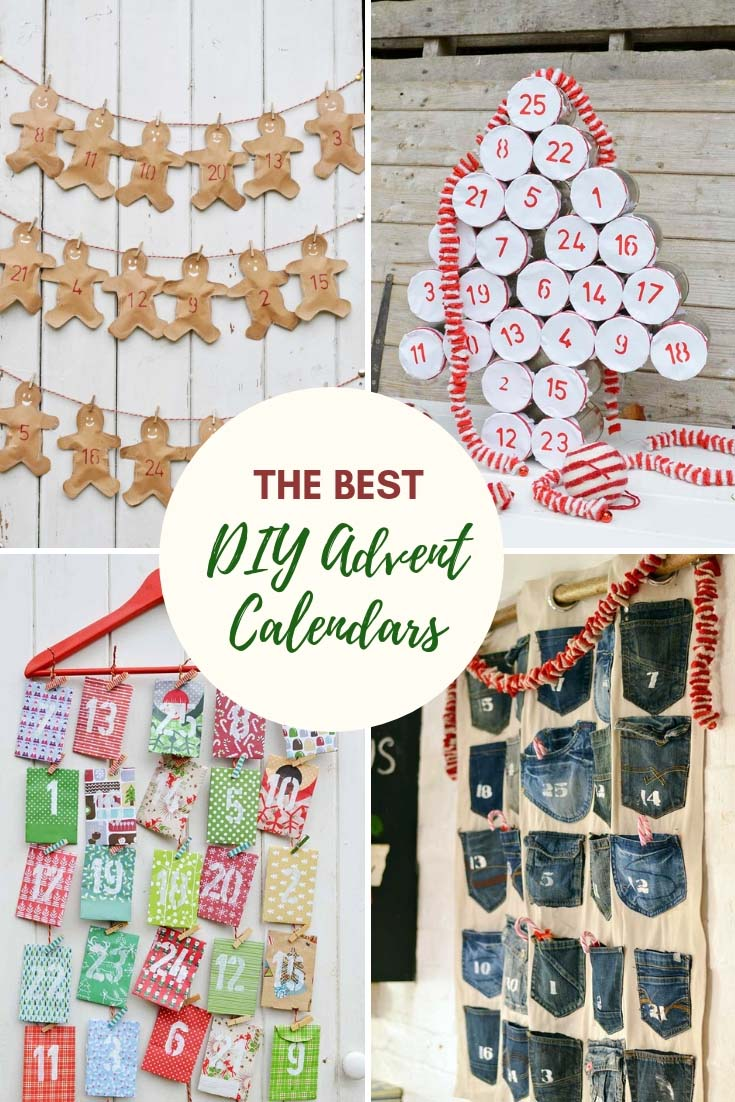 The best handmade DIY Christmas Advent Calendar