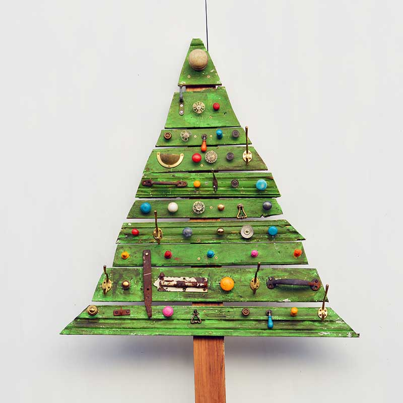 Hanging Wall Christmas Tree