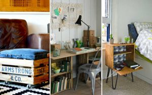 21 Of The Best Ways To Repurpose Old Wooden Crates Pillar Box Blue