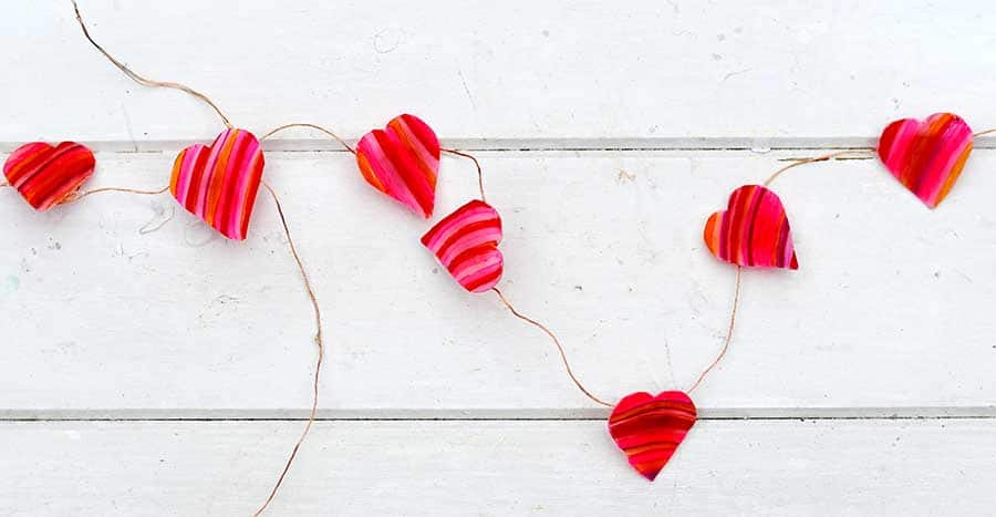 How To Make Heart String Lights To Brighten Your Home