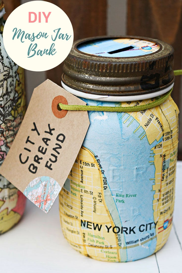 New york mason jar bank
