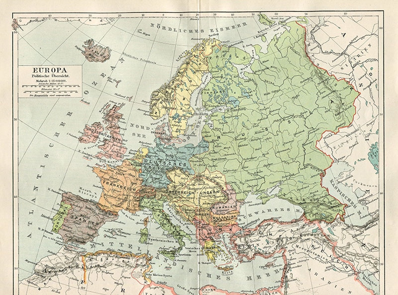 460d1d8d2b I love looking at old maps of Europe as so many boarders have changed over  the last Century. Many countries have disappeared and new ones reborn even  in the ...