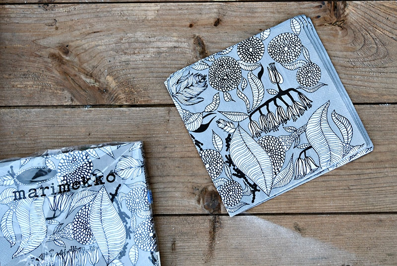 Marimekko KAINO paper napkins