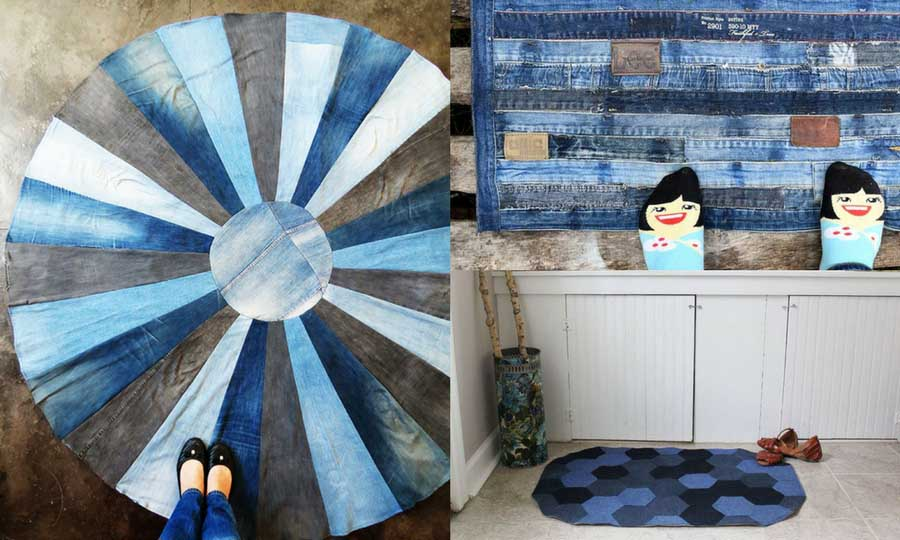 How To Make A Blue Jean Rug, 11 Unique