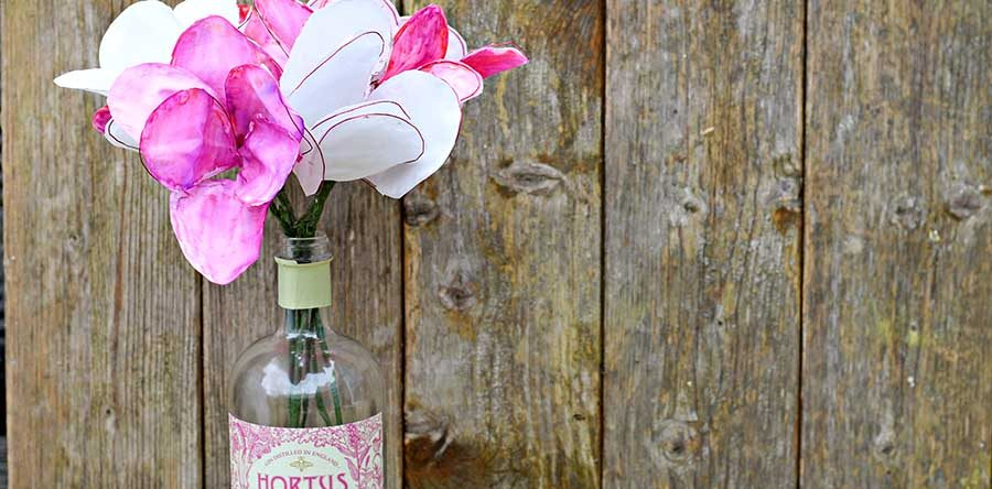How to make fabric flowers from old bed sheets pillar box blue how to make fabric flowers from old bed sheets mightylinksfo