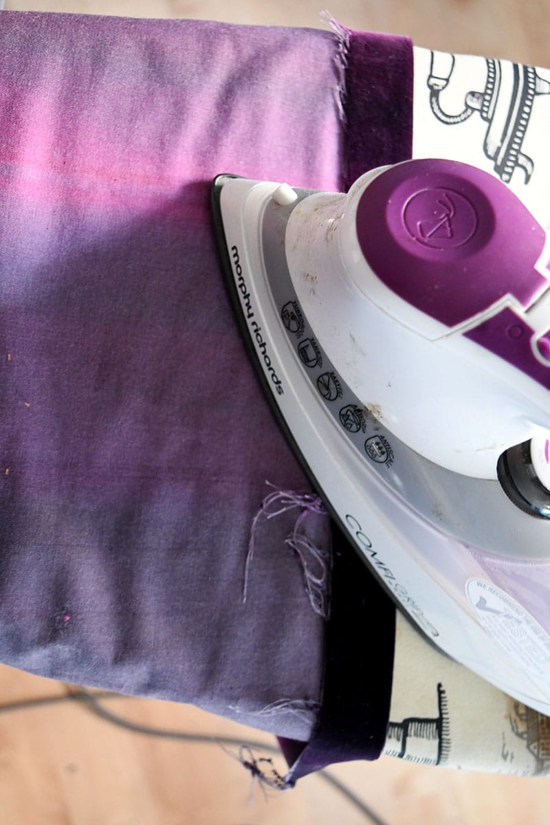ironing hem