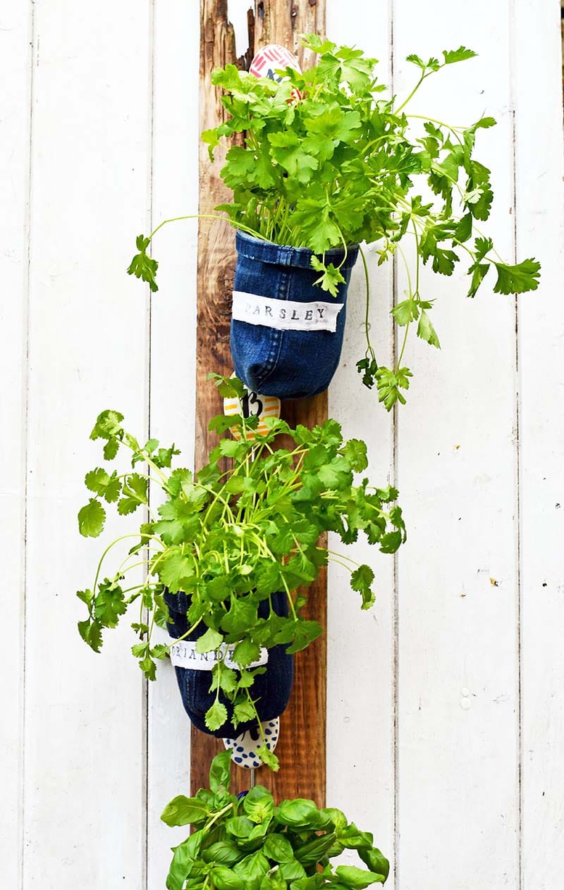 vertical indoor herb planters