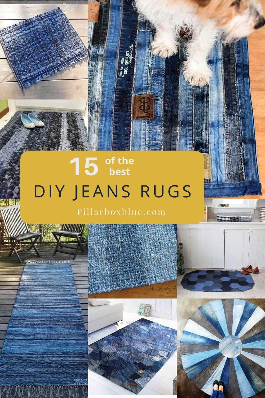 DIY-Blue-jeans-rugs