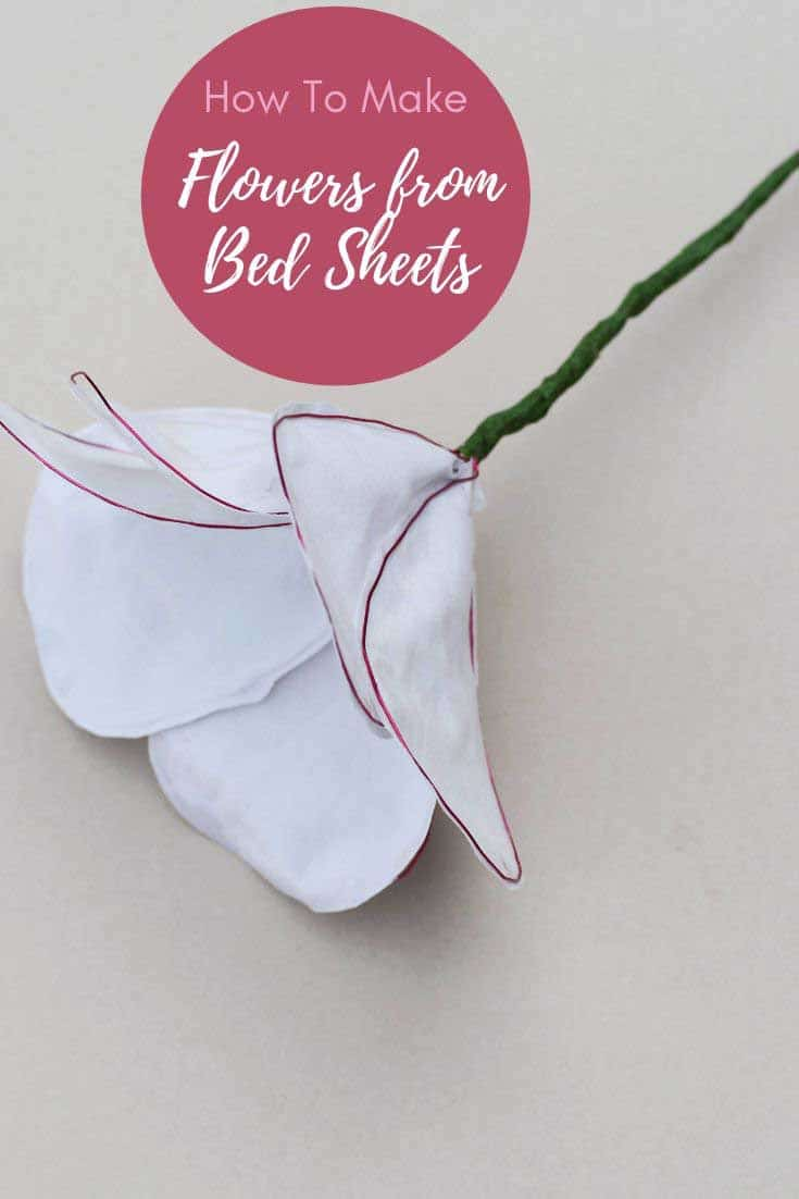 How to make flowers from sheets