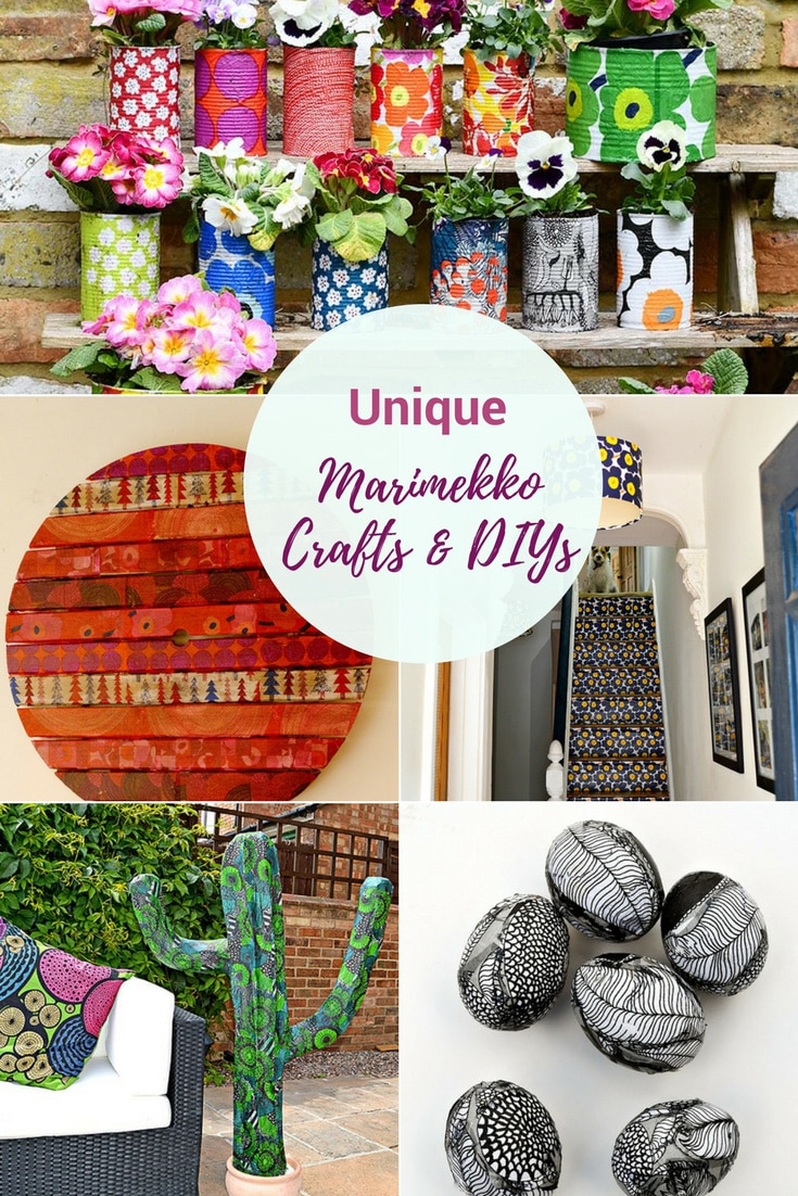 Unique Marimekko Crafts and DIY's