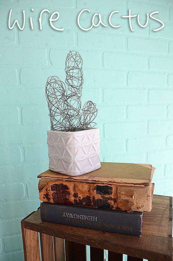 Wire cactus