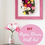 How to make a pineapple flower wall decoration