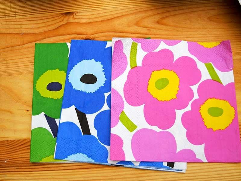 Marimekko Unikko Paper napkins