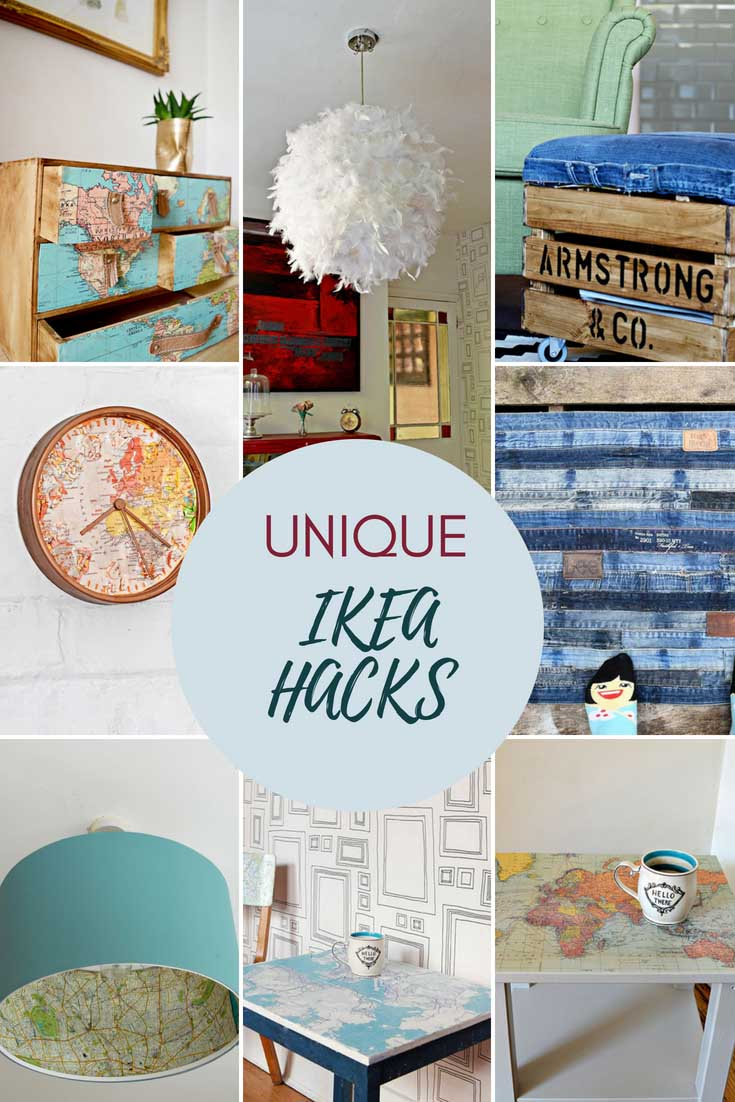 Unique and cool IKEA hacks